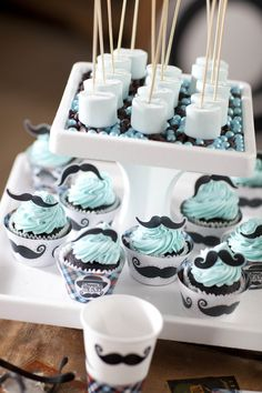 Little Man Mustache Party Supplies #Birthday #Kids #BirthdayExpress