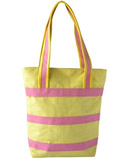 #totebag #jutetotebag #jute #yellow #pink Available at www.earthenme.com