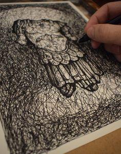 Imperator ORIGINAL DRAWING Pencil On PaperAncient | Etsy