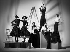 Cuando la moda es en Blanco y Negro... Pablo Ramírez, diseñador argentino.