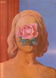 Later Years - Matteson Art R. Rene Magritte, Conceptual Art, Surreal Art, Magritte Paintings, Arte Pop, Artist At Work, Flower Art, Art History, Modern Art