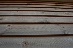 ThermoWood cladding.