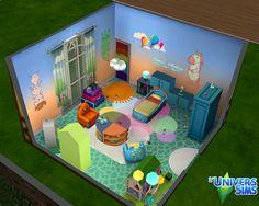"""A propos de ce fichier : Découvrez un univers magique avec cette chambre de bambin conçue par """"des spécialistes"""" de la décoration enfantine , cette p..."""