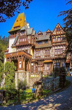 Sinaia, Romania Pelisor Castle