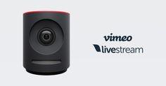 Vimeo and Livestream integrate following acquisition launch a new live event camera Mevo Plus
