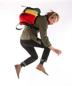 This is how you feel with your Timbuk2  The Classic Messenger    http://www.timbuk2.com/tb2/products/classic-messenger/2114692