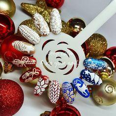 PART 1 #nails #nailsart #hybrydypronail #christmasnails #christmasnailsart #wzorkiswiateczne #swiatecznepaznokcie #nailsartist #followme