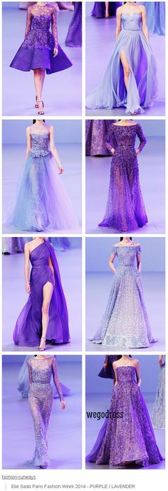 Ellie Saab PERFECT for casually cosplaying Elsa from Disney's Frozen Elie Saab, Beautiful Gowns, Beautiful Outfits, Elegant Dresses, Pretty Dresses, Only Shirt, Evening Dresses, Prom Dresses, Purple Dress