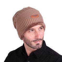 Unisex Womens Mens S Hat Winter Beanie Baggy Warm Wool Cap Hot