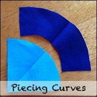 Piecing Curves Patterns/Tutorials