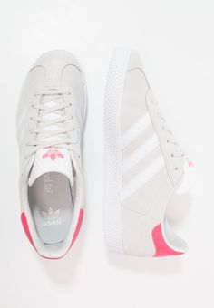 huge selection of 2b68c eb52f GAZELLE - Trainers - grey onefootwear whitereal pink  Zalando.co.uk 🛒