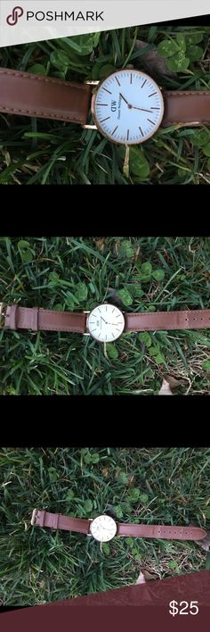 3de927e5843 Daniel Wellington Watch I bought this watch off of the vinted app so I'm