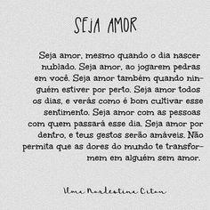 Seja Amor