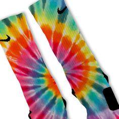 Tie-Dye Custom Nike Elite Socks