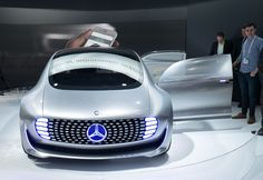 The Best of CES 2015: The Mercedes F 015 Luxury in Motion