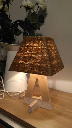 Lamp Design, Wood Design, Wooden Lamp, Pendant Lamp, Interiors, Lights, Home Decor, Wooden Crafts, Transitional Chandeliers