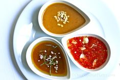 Once Upon a Plate The Recipes: Three Asian-Style Dipping Sauces