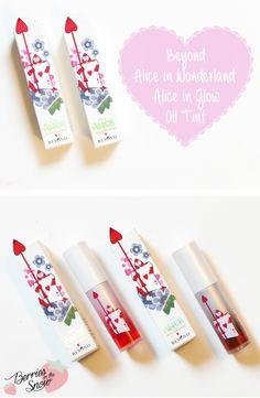 Review: Beyond Alice in Glow Oil Tints #makeup #disney