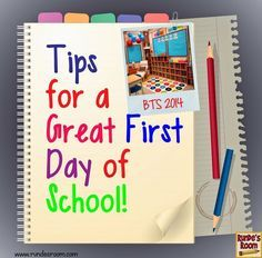 Runde's Room: Hook Them from the First Day . Tips for Back to School - classroom teachers share their favorite fun and engaging back to school activities. Back to School tips First Day Of School Activities, 1st Day Of School, Beginning Of The School Year, School Fun, School Ideas, School Tips, Middle School, High School, Starting School