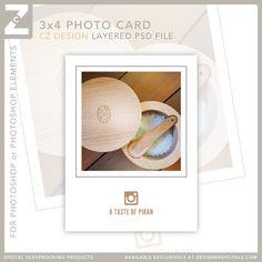 freebie by Cathy Zielske Scrapbooking Freebies, Pocket Scrapbooking, Scrapbook Pages, Project Life Free, Paper Pocket, Free Instagram, Library Card, Photoshop Elements, Journal Cards