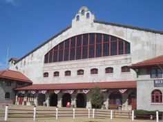 The Cowtown Coliseum,  home to the Fort Worth Stock Show and Rodeo - at the historic Fort Worth Stock Yard.