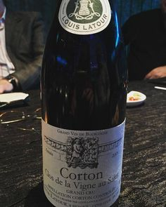 This 05 #Corton is just opening up now. #loveburgundy
