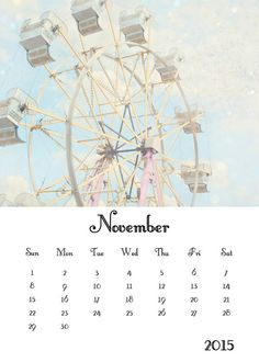 2015 Calendar Candy Carnival 2015 Photography by JessaMaePhoto