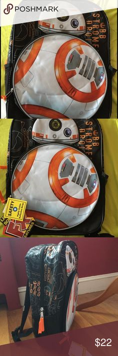🎁new backpack 🎁 New with tag Star Wars backpack. Smoke pet free home. Bags
