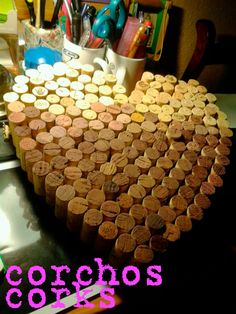 Corks for a heart