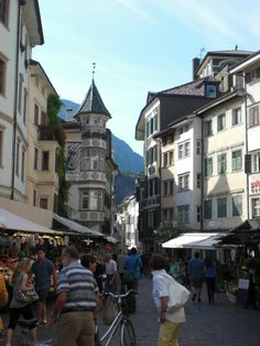Via Argentieri (street) - Bolzano, Italy Italy Tourism, South Tyrol, Trip Advisor, Skiing, Street View, Vacation, 98, Cityscapes, Tourism In Italy
