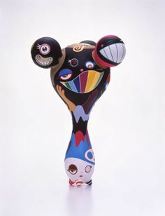 Sculpture by Takashi Murakami.