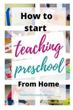 Are you considering homeschooling your preschooler? Find out a what things you need to consider before deciding to teach preschool in your home. And find the best homeschool curriculum for you. Private Preschool, Preschool At Home, Preschool Kindergarten, Teach Preschool, Homeschool Preschool Curriculum, Curriculum Planning, Preschool Projects, Preschool Lesson Plans, How To Start Homeschooling