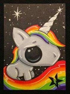 Chibi unicorn anime