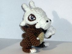 Cubone Crochet Plush by blackmoonflower on Etsy, $18.00
