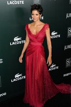 Halle Berry at the 13th Annual Costume Designers Guild Awards 2011 - Elie Saab