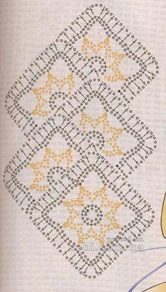 nastro pizzo  7 - схема вязания