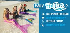 Are you skeptical about a mermaid tail? Let us tell you why you should pick ours!