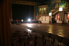 Day Two, So strange to see the theatre without seats! Daily Pictures, Mural Painting, Campaign, Heavens, Theatre, Earth, Projects, Theater, Wall Drawing
