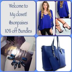 Welcome to my Closet! 10% Off Bundles I own and operate my own boutique & spend my days there selling too, but I also love my Poshmark customers & want you to know I will not bother you if you like my items. If your interested please let me know. Because of my busy days I may not be able to answer right away, but I try to answer same day. Customers who offer too low will be BLOCKED, no time for that sorry. My prices are great! I hope you enjoy the items I have made available to you! You may…