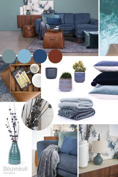 Benjamin Moore, Ottoman, Palette, Turquoise, Chair, Projects, Furniture, Home Decor, Blue Lounge