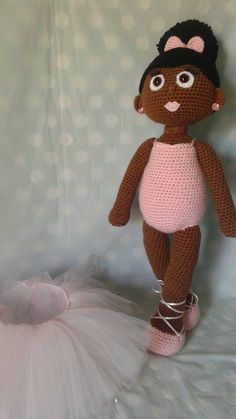 Chose your custom little ballet dancer! You have the option of 17 different skin tones! She is made to order, with two removable accessories; hair bow and tulle skirt! Your custom cutie can also be created in the color scheme of your choice! You can even chose her lip and eye color! She will be about 20-22 inches tall and machine washable! She will be made special, with love just like the cutie she is being created for! * Keep in mind that the Duplicates are NOT available, each doll will be…