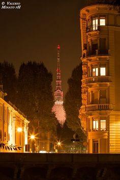 Torino. La Mole dal Lungo Dora