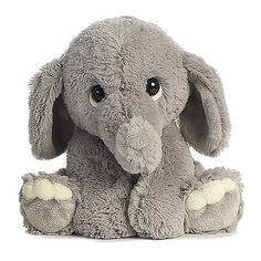 Kids Stuffed Animal Toy Elephant Plush Doll Cute Baby Boy Girl Little Bed Time