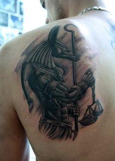 ผลการค้นหารูปภาพสำหรับ อนูบิส tattoo