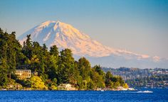 Route: Eugene, OR to Vancouver, BC Duration: 11 hours, 30 minutes With sweeping seascapes, majestic mountains, lush forests, and possible wildlife sighting from bald eagles to otters, this journey through the Pacific Northwest offers a healthy dose of adventure in addition to beautiful scenery. For more information and to book tickets, visit Amtrak.   - CountryLiving.com