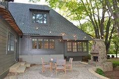 Nashville Residence - This residence in Nashville, TN used Wood-Ultrex Casement, Awning, and Double Hung windows.
