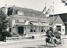 Zalen Tivoli aan de noordzijde van de Huizumerlaan.
