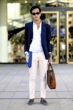 the metro man at fashion week