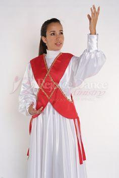 Crossed Ephod w/Sequin Decoration - Praise & Worship Dance Wear