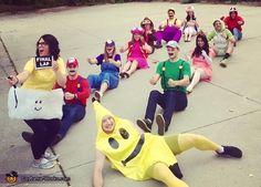 Mario Kart, Mario Kart Group Halloween Costume